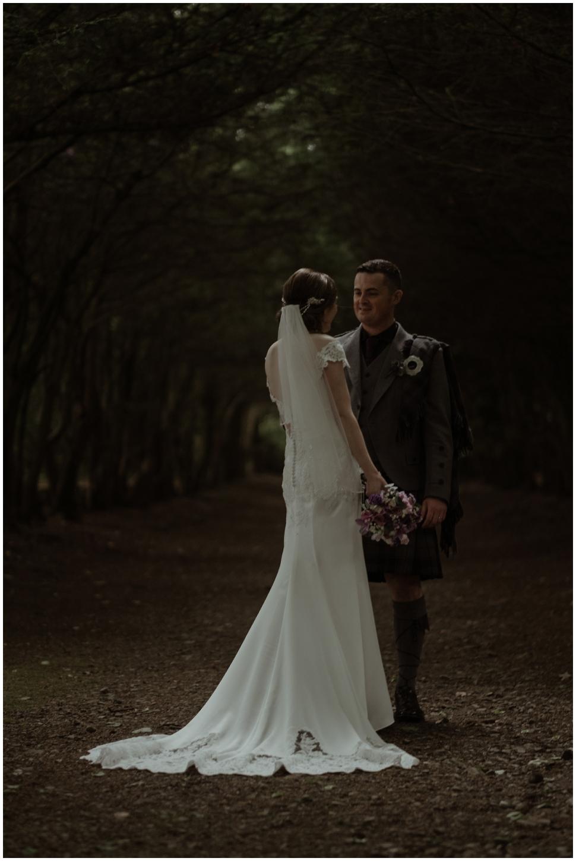 scotland-wedding scottish castle wedding