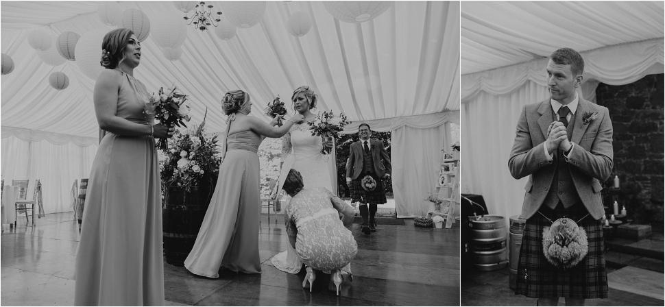 wedding-photographer-scotland kirknewton stables wedding