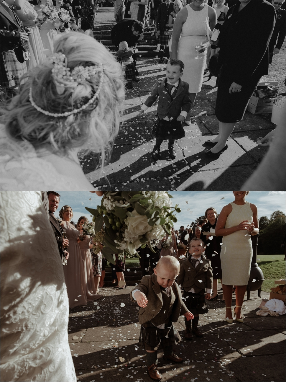 kirknewton-stables scotland wedding photographer