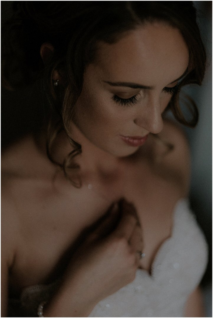 bridal portrait scotland