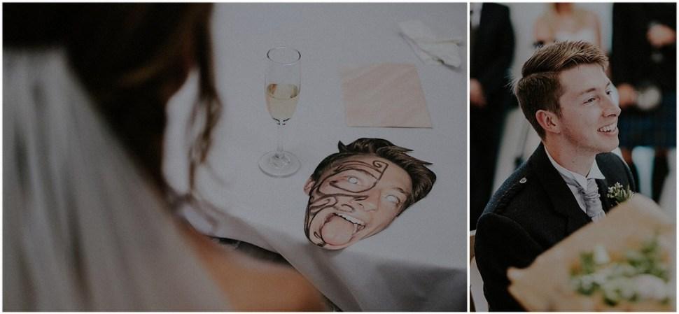 scotland wedding table
