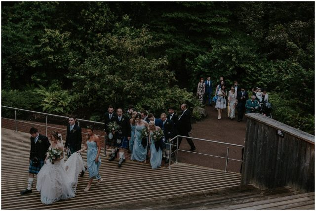 alternative wedding photographers Scotland