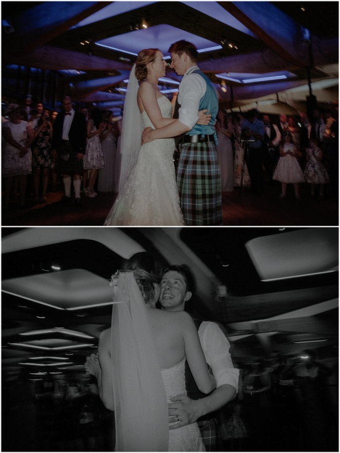 first dance at wedding in scotland