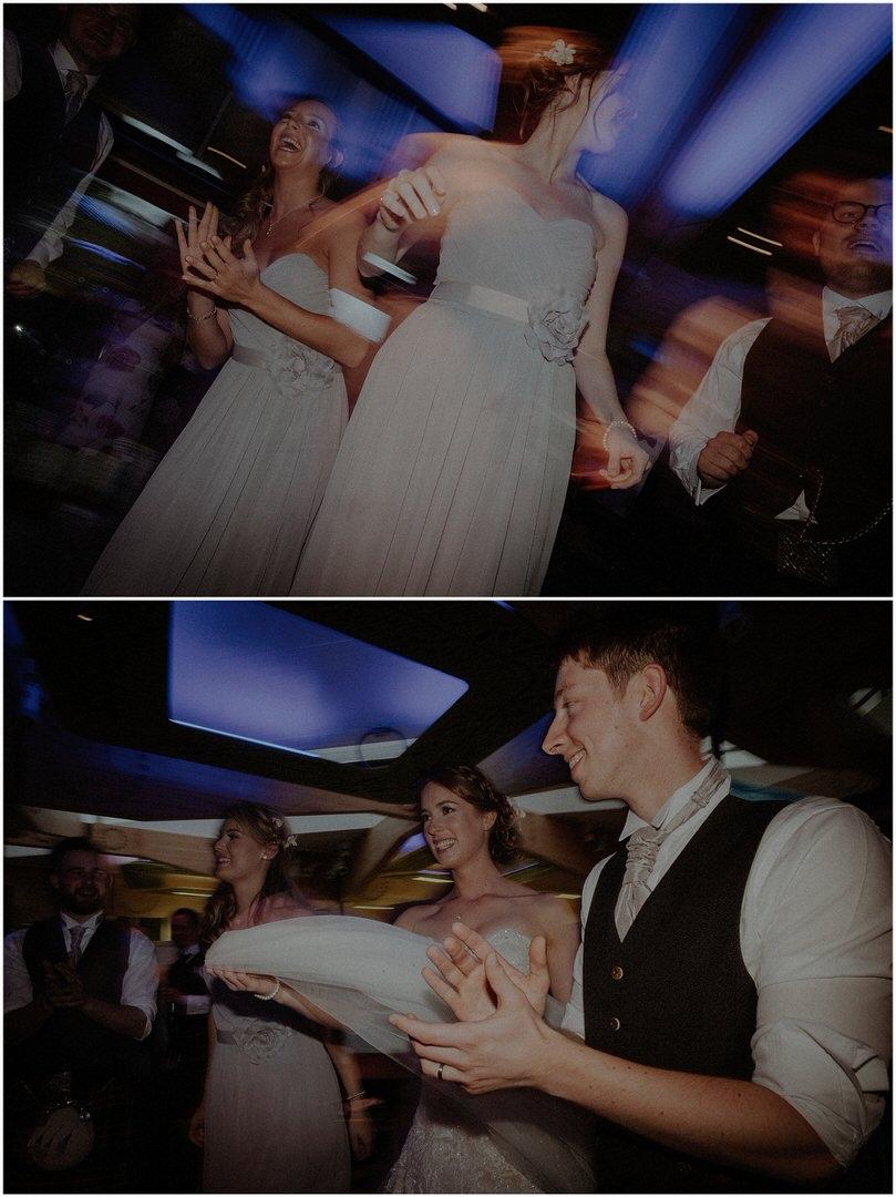 dancing at wedding in scotland