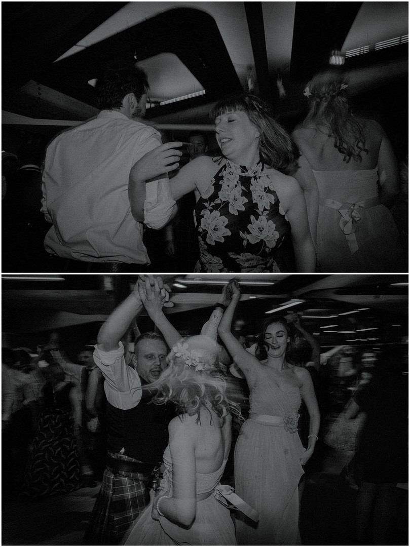 scottish wedding dancing