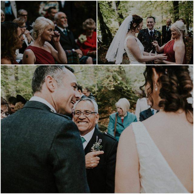 Ossians hall wedding photography
