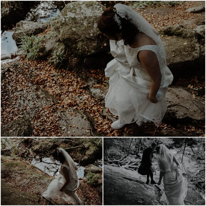 hermitage dunkeld nature wedding