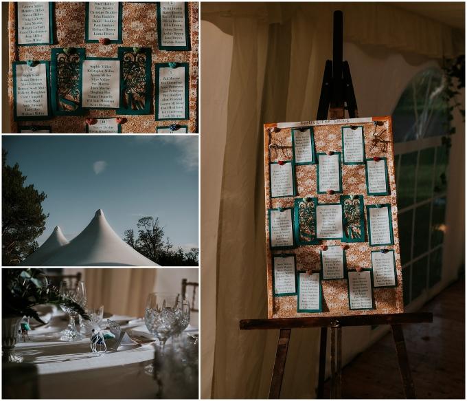 detail at wedding at winton