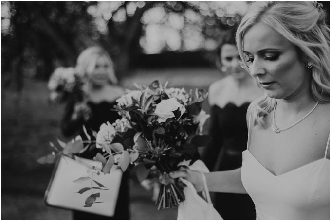 bride at scottish wedding