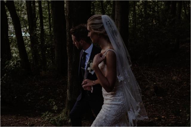 bride and groom wedding in scotland