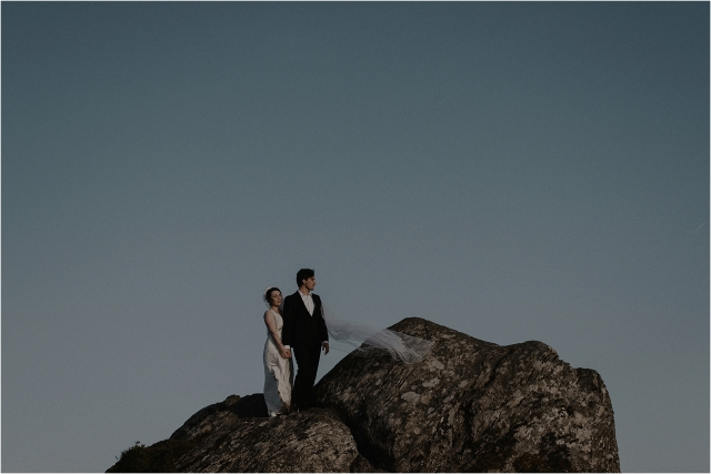 couple elopement in scotland